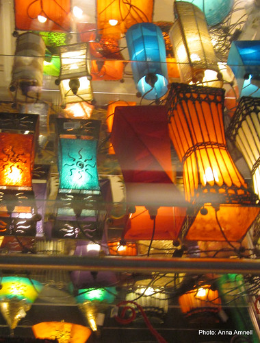 Kamppi lanterns by Anna Amnell