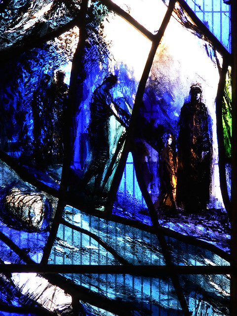 South Ambulatory Chapel Gloucester Cathedral Stained Glass Tom Denny