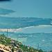 Corse du Sud, Golfe de Porto-Vecchio vu de la route montant vers Zonza 4 le Golfe de San Ciprianu