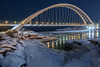 Humber Bay Arch Bridge afte...