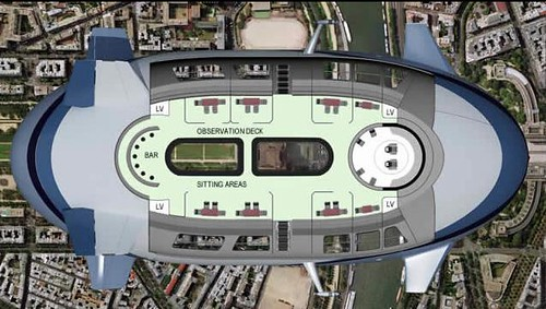 blimp plane commercial floor plan