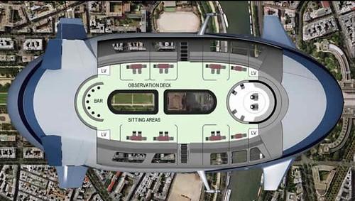 blimp plane commercial floor plan