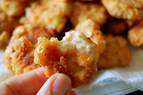 Homemade Chicken Nuggets with Honey by my_amii, on Flickr