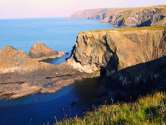 Coastal Landscape (lisaluvz) Tags: park sea west wales landscape coast rocks walk cliffs caves national pools pembrokeshire lisaluvz