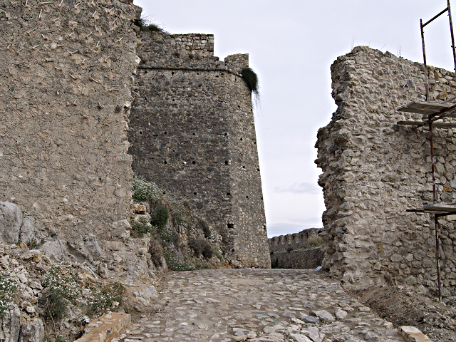 site of the second gate, Vonitsa castle, Greece