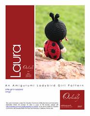 Laura pattern page 1 (*mia*) Tags: girl costume doll crochet dressup softie ladybird ladybug amigurumi pretend november2007 owlishly