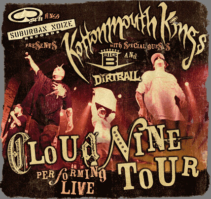 Kottonmouth Kings Logo. Kottonmouth Kings Tour Banner
