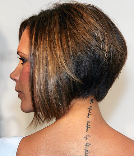 star neck tattoo. neck tattoo ideas. small neck