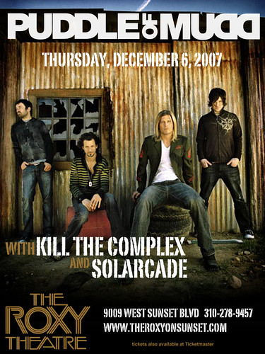 Puddle Of Mudd - 12/6