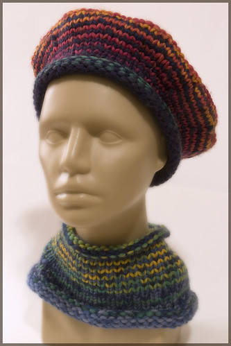 Wedget Hat, Cool Colorway