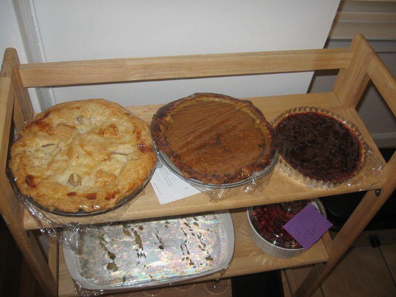 Pie Shelf!