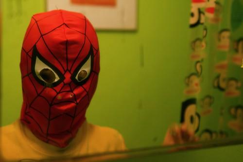 Spider-Man spies me