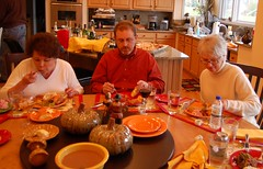 Dig In! (HexBlock) Tags: thanksgiving family food cindy mike table warmth eat nancy