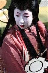 T E R U K O M A : Shizuka Gozen (mboogiedown) Tags: travel woman beauty festival japan lady asian japanese kyoto asia traditional culture geiko geisha gion tradition kansai matsuri ages heian jidai gozen shizuka oshiroi kobu discoverkyoto terukoma
