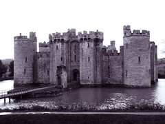 Bodiam Castle - Fairytale Castle (torimages) Tags: blackandwhite bw castle sussex ss medieval bodiam moat nationaltrust allrightsreserved donotusewithoutwrittenconsent copyrighttorimages