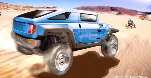 Картинки Hummer HX