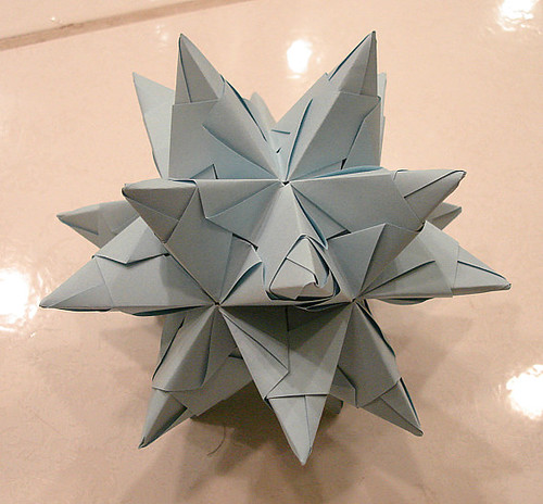 3D Origami star -- tutorial on page 2 - PAPER CRAFTS ...