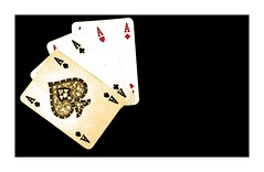 four ace ♠ ♣ ♥ ♦ (el_mo) Tags: diamonds hearts play heart ace casino diamond poker card fiori cuori spades quadri casinò asso picche