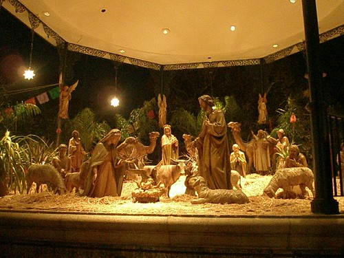 HUGE nativity scene