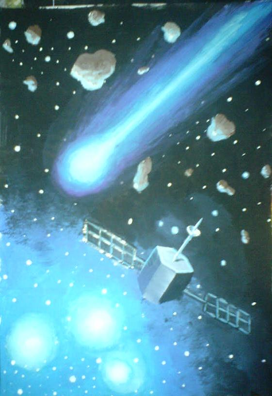 Cometa si satelit