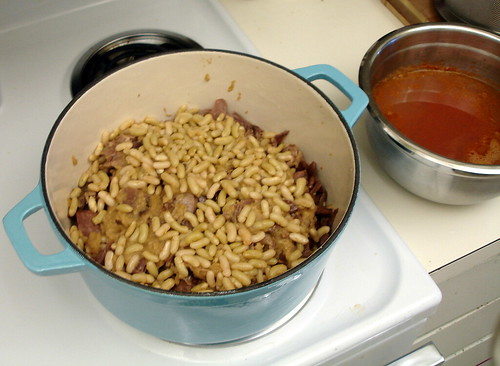 Assembling the cassoulet