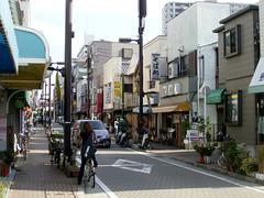 平井駅前商店街の終端