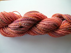 Creatively Dyed Yarn Handspun