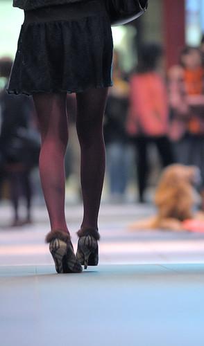 真的是美腿