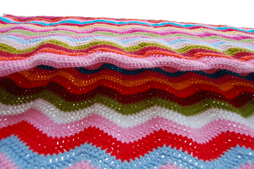 Ripple Afghan by iHanna