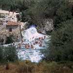 Tuscany Saturnia: overview lime sinter falls 47.305.04 thumbnail