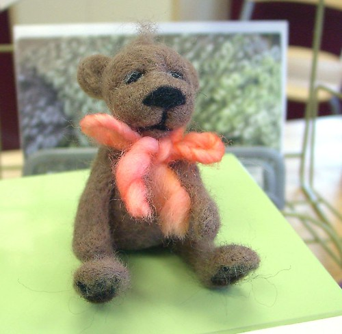 Felted Teddy at SSFY