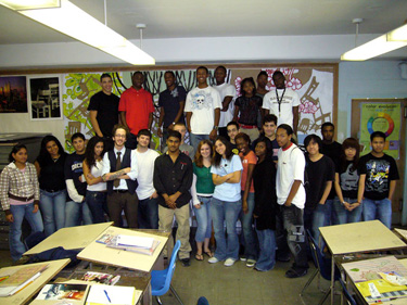 mark mcquilling and students, Northeast High School