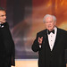 Actors Burt Reynolds and Charles Durning on stage at the TNT/TBS broadcast of the 14th Annual Screen Actors Guild Awards at the Shrine Auditorium on January 27, 2008 in Los Angeles, California. 15315_mc_0436.JPG
