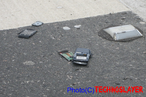 Cellphone Roadkill