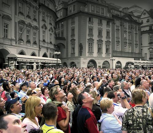 Aliens arrive in Prague! by Ben