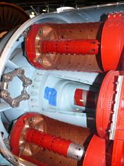 Pratt & Whitney JT3D engine, American Airlines Museum, Dallas Fort Worth, Texas. (RuthannOC) Tags: usa museum airplane fly flying dallas texas fort aircraft air flight jet engine aeroplane panasonic turbo american whitney airline worth boeing 707 airlines usaf oconnor aa airliner pratt pw ruthann 720b prattwhitney turbojet jt3d dmcfz50 tf33