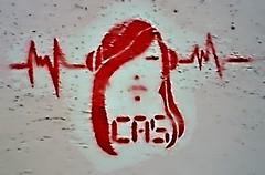 CAS (montuno) Tags: graffiti andaluca stencil gimp sharp urbanart kdd 2008 febrero mvil mlaga grafity quedada highpass plantilla arteurbano estarcido kddmlg23f greystoraction
