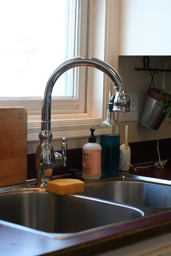 New sink & faucet