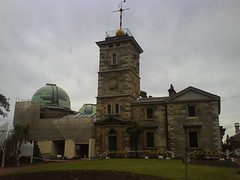 Sydney Observatory, with bollock