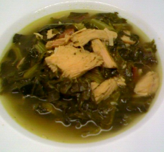 Collard Green and Turkey Soup