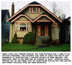Resonating Gables (mattski) Tags: urban vancouver bungalows dangraham photoconceptualism homesforamerica santaclauswindowdecoration