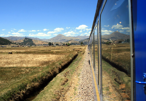 Train from Cusco to Puno, Peru
