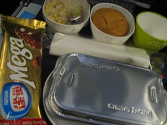 Dinner in the Plane!