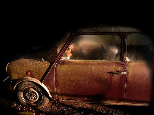 Mini Cooper rusted