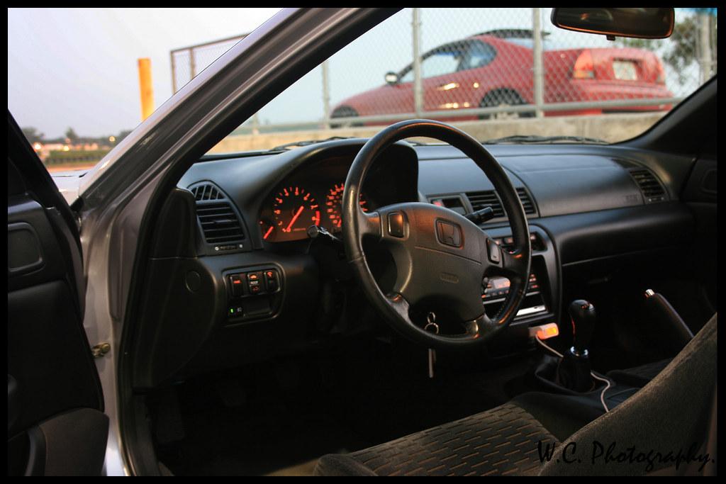 1997 Prelude Type SH interior