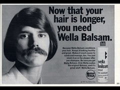 Wella Balsam (typographyshop) Tags: vintage hair advertising typography 70s