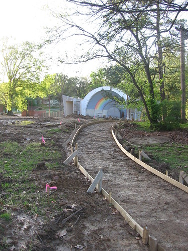 Overton Park Shell Renovation, April 2008