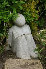 Garden Gnome (tim ellis) Tags: statue garden grey gnome faceless bureaucrat msh0508 msh05087