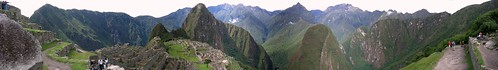 pano of Machu Picchu (near)