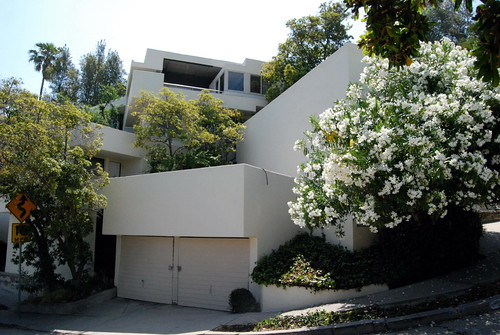 Falk Apartments, R.M. Schindler, Architect c.1939 by Michael Locke